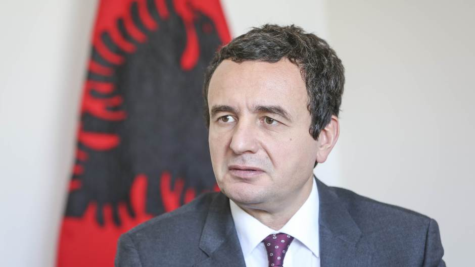 Kurti: Tači da podnese ostavku, Kosovo i Albanija da budu kao dve Nemačke 1