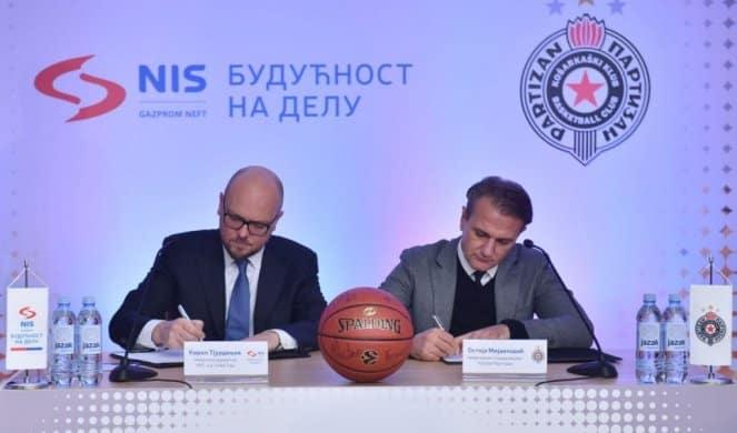 Nastavak saradnje NIS-a i Кošarkaškog kluba Partizan! 1
