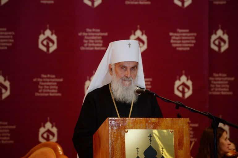Patrijarh Irinej se obratio narodu: Bezbožnici su digli ruku na svetinje gospodnje! 1