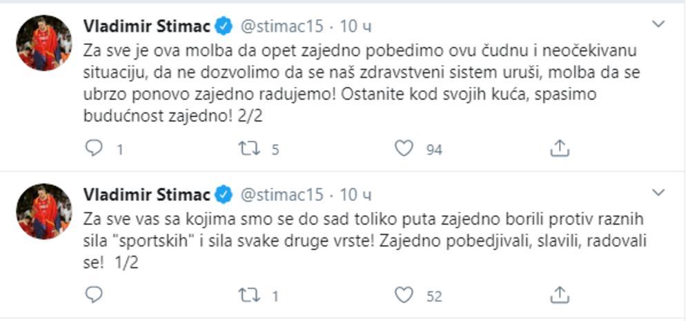 OGLASIO SE CENTAR ZVEZDE: Štimac poslao snažnu poruku celoj Srbiji 1