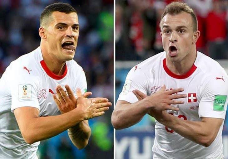 DŽAKA OPET PROVOCIRA: 2 Albanca za pobedu protiv Srbije 1