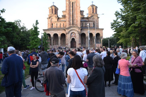 NE DAMO SVETINJE: Snažna poruka i potresan govor iz Beograda (VIDEO) 5