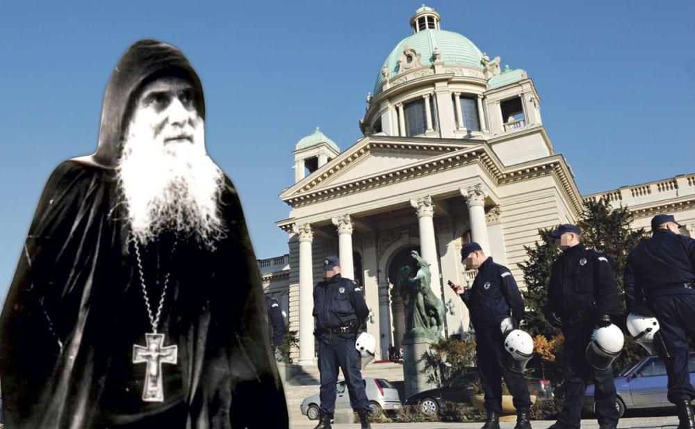 MONAH GAVRILO: Bežaće iz Beograda, proliće se krv u skupštini! (VIDEO) 1
