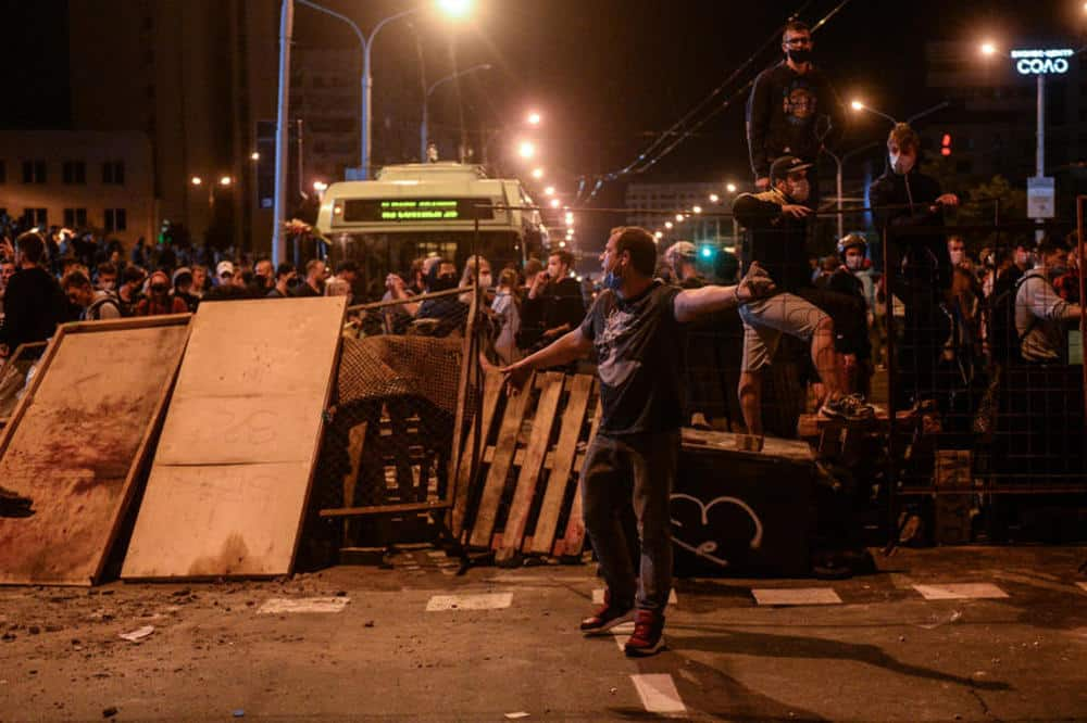 BELORUSIJA GORI, DA LI JE LUKAŠENKO GOTOV? Najdramatičniji snimci s ulica Minska su upravo objavljeni (VIDEO) 1