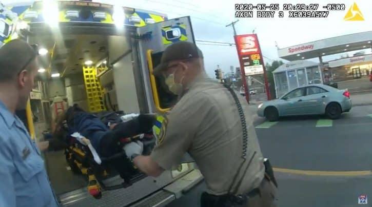 (UZNEMIRUJUĆE)     Ubistvo Flojda snimala policija, isplivali snimci 1