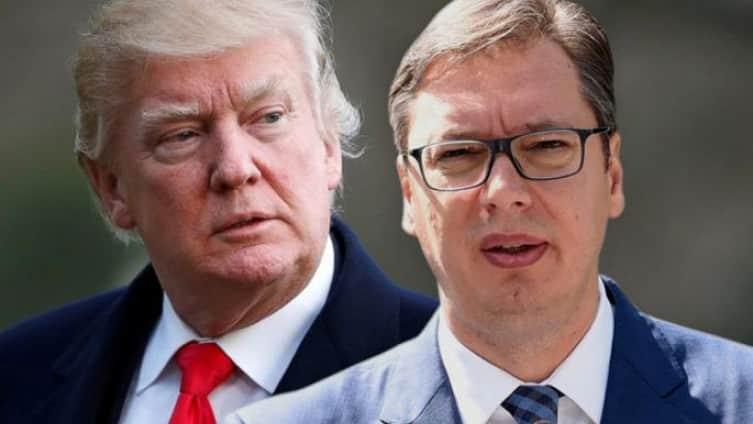 TRAMP PRITERAO VUČIĆA UZA ZID: Amerika želi konačan dogovor 1