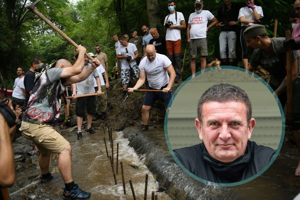 """ŽUJOVIĆ U RAKITI: """"Za sve moje ljude"""", pomažem Srbiji i osnivam pokret 1"""