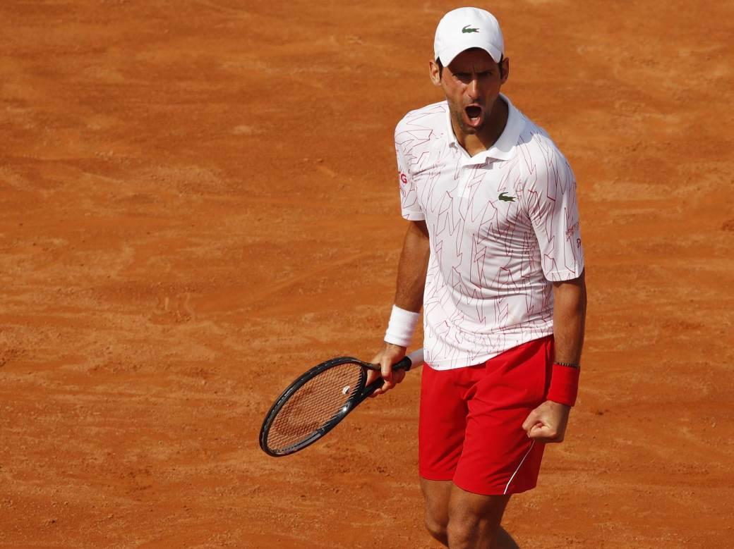 SVE JE SPREMNO ZA SPEKTAKL: Novak u finalu Rima juri novi rekord protiv neverovatnog Argentinca! 1