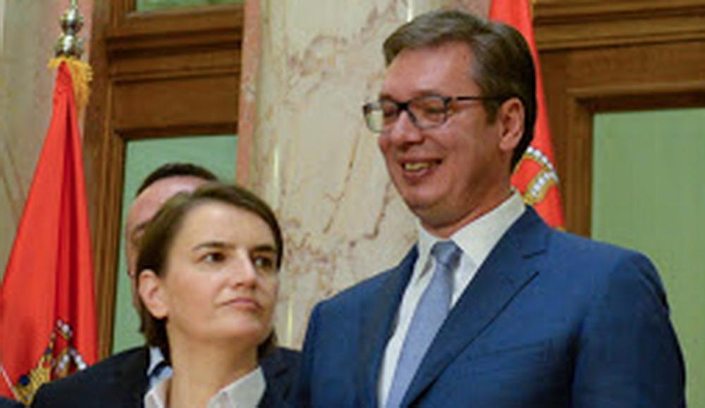 VUČIĆ KLEČI PRED GEJ LOBIJEM: Brnabićka ponovo premijer evo i zašto! 1