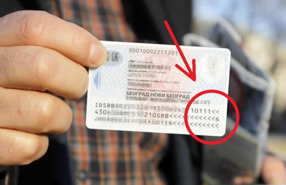 DOBRO POGLEDAJTE SVOJU LIČNU KARTU: Ovo je broj koji govori koliko ljudi u Srbiji liči na vas! (FOTO) 5