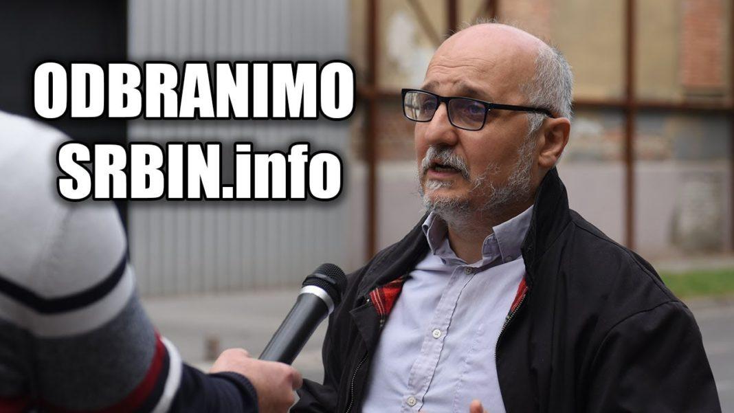 ODBRANIMO DAMNJANA I SRBIN INFO: Marić i TV Hepi ih napali! SVI NA PROTEST! 1