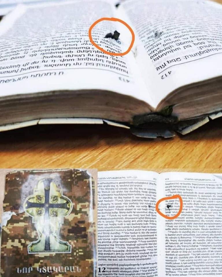ČUDO BOŽJE U NAGORNO KARABAHU: Momka u bombardovanju crkve spasila BIBLIJA! NIJEDNA IKONA NIJE PALA! 1