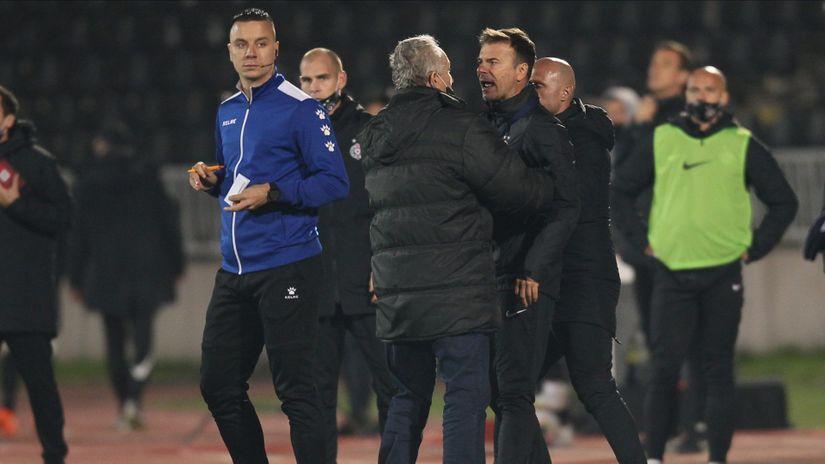 U PARTIZANU BESNI POSLE DERBIJA! Vazura napao sudiju izjavom o kojoj priča cela Srbija!  Stanojević nezadovoljan bodom... 1